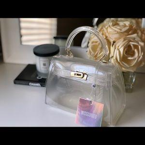 Clear trendy bag